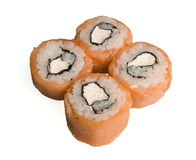 Rolled and sushi Royalty Free Stock Image