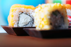 Rolled sushi Stock Images