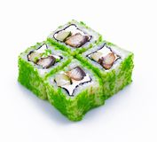 Rolled and sushi Stock Photography