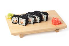 Rolled sushi Stock Image