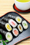 Rolled sushi Stock Photos