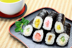 Rolled sushi Royalty Free Stock Image