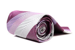 Rolled tie Royalty Free Stock Photo