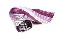 Rolled tie Stock Photography