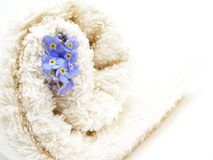 Rolled towel Royalty Free Stock Images