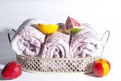 Rolled towel Royalty Free Stock Image