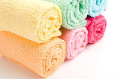 Rolled towels Royalty Free Stock Photo