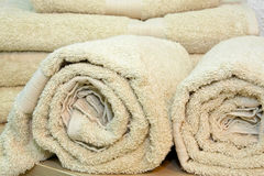 Rolled towels Stock Photography