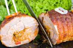 Rolled turkey joint Royalty Free Stock Photography