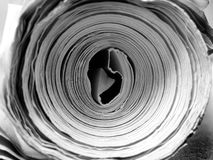 Rolled up Paper Royalty Free Stock Photo