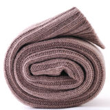 Rolled up scarf Stock Images