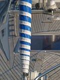 Rolled-up Segel Stockbild