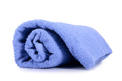 Rolled up towel Stock Images