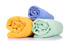 Rolled up towel Royalty Free Stock Photos