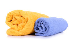Rolled up towel Royalty Free Stock Photography