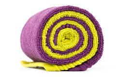 Rolled up towels Stock Photo