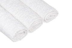 Rolled up towels Royalty Free Stock Image