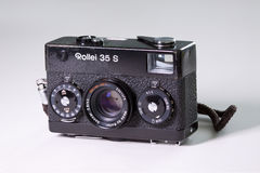Free Rollei 35S Classic 35mm Film Camera Stock Photos - 78147073