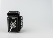 Rolleiflex F3.5 - Model 3 1960-1964. About 50.000 cameras were manufactured. Serial numbers are: 2250000-2299546 Stock Photos