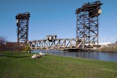 Rollen-Aufzug-Brücke Stockfotografie