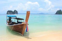 Rollen-Boot, Thailand. stockfotografie