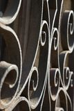 Rollen des bearbeiteten Eisens in Venedig, Italien. Stockbilder
