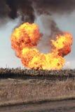 Rollen-Flammen Stockbilder