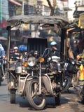 Rollen in Hanoi Stockbild