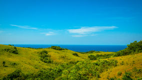 Rollen-Insel-Hügel stockbild