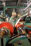 Rollen op machine stock foto