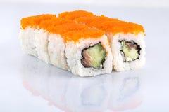 Rollen Sie die köstlichen Sushi Lizenzfreie Stockbilder