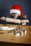 Rollen-Weihnachtsplätzchen Lizenzfreies Stockfoto