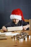 Rollen-Weihnachtsplätzchen Lizenzfreie Stockfotografie