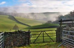 Rollende englische Landschaft Lizenzfreies Stockfoto