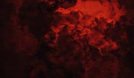 Rollende Wogen von Rauchnebelwolken vom Trockeneis über unterem Licht Nebel auf der Boden lokalisierten Hintergrundbeschaffenheit stockfoto