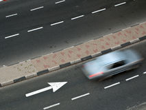 Rollender Verkehr Stockfotografie