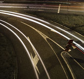 Rollender Verkehr Stockfotos