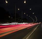 Rollender Verkehr Stockbild