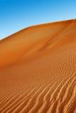 RollenSanddünen der arabischen Wüste Stockbild