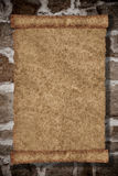 Rollepapierhintergrund Stockbild