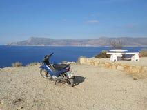 Roller auf der Küste Stockbilder