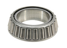 Roller bearing. The steel roller bearing isolated on white Royalty Free Stock Images