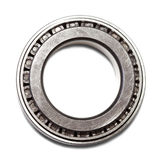 Roller bearing. Conical roller bearing. Isolated on white background  with clipping path Stock Image