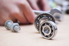 Roller bearing Royalty Free Stock Photography