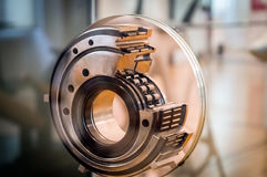 Roller bearing in the cut. Showing the mechanism Stock Images