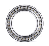 Roller bearing. Cylindrical roller bearing isolated on white Stock Photos