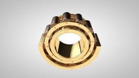 Roller bearing stock video
