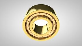 Roller bearing stock video footage