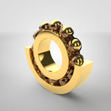 Roller bearing. 3d image of a roller bearing Stock Photo