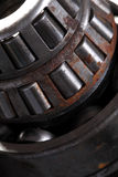 Roller bearing macro Royalty Free Stock Images